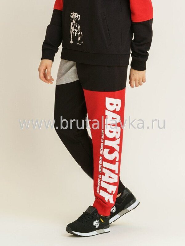 Штаны спортивные женские Aruna Sweatpants - black/red